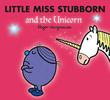 NEW sparkly LITTLE MISS STUBBORN and the UNICORN (BUY 5 GET 1 FREE book Mr Men
