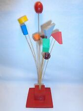 VTG ATOMIC GEOMETRIC SCULPTURE KINETIC POP ART MID CENTURY MODERN SPACE AGE