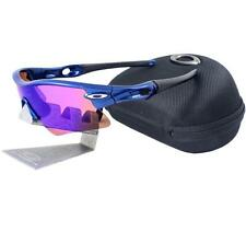 Oakley Custom RADAR RANGE Metallic Blue Iridium Lens Mens Sports Sunglasses