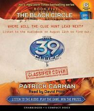 The Black Circle  The 39 Clues , Book 5   - Audio 2009 by Carman, Pat  EXLIBRARY