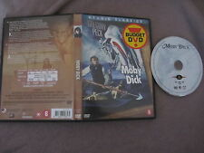 Moby Dick de John Huston avec Gregory Peck, DVD, Aventure, RARE!!!