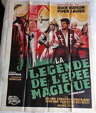 Ancienne Affiche Cinéma LA LEGENDE DE L'EPEE MAGIQUE. Cinema Movie Poster.