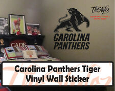 Carolina Panthers Custom Vinyl Wall Sticker