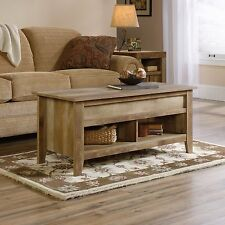 Lift-Top Coffee Table - Craftsman Oak - Dakota Pass (420011)