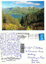 1993 THE FIVE SISTERS OF KINTAIL ROSS & CROMARTY SCOTLAND COLOUR POSTCARD