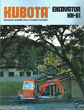Equipment Brochure - Kubota - KH-91 - Excavator - c1989 (E2920)