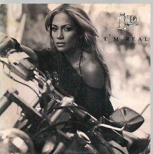 CD SINGLE 2 TITRES--JENNIFER LOPEZ--I'M REAL--2001
