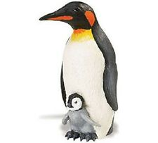 Safari Ltd Incredible Creatures Emperor Penguin w/ Baby, New
