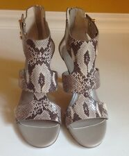 Cole Haan Moama Python Snake Embossed Sandals 6B