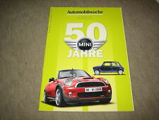 Mini 50 años Automobile semana Edition folleto brochure de 5/2009, 68 páginas
