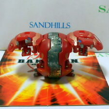 Bakugan Dual Hydranoid Red Pyrus B1 Classic 450G & cards
