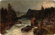CPA MARTEN-MULLER Fra Valders. NORWAY Norge (a3408)