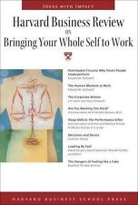 Harvard Business Review on Bringing Your Whole Self to Work (Harvard B-ExLibrary
