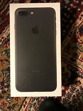 iPhone 7 Plus Black (128gb) Box ONLY With Accessories