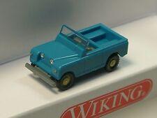 Wiking Land Rover, offen, blau  - 923 01 - 1/160