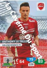 VAFC-10 ANTHONY LE TALLEC # VALENCIENNES.FC CARD ADRENALYN FOOT 2014 PANINI