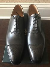 NWB Crockett & Jones Burnished Grey Malton Shoes 8.5E UK ~9.5 US Made In England