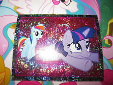 MY LITTLE PONY MON PETIT PONEY TOPPS 2014 IMAGE STICKER AUTOCOLLANT N° 176 HOLO