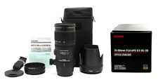 Brand New Sigma 70-200mm f2.8 APO EX DG OS AF Zoom Lens for Canon 589101 19835