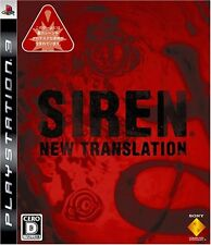 (Used) PS3 Siren: New Translation [Import Japan]((Free Shipping))、