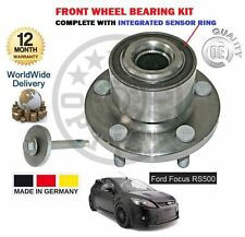 FOR FORD FOCUS RS + RS500 JZDA 2009-2011 NEW FRONT WHEEL BEARING KIT WITH SENSOR