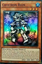 YuGiOh INOV-ENSE3 CRYSTRON RION Super Rare Limited Edition TOURNAMENT LEGAL Mint