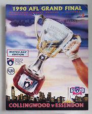 1990 AFL GRAND FINAL Football Record COLLINGWOOD MAGPIES Souvenir MCG Program [a