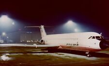 COURT LINE BAC 1-11 G-AXMI night image Luton Airport - 6 x 4 Print