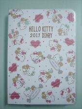 2017 Sanrio Hello Kitty Schedule Book Diary Planner Notebook Free Shipping