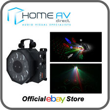 Kam Gobo Star Multicolour Gobo Effects & Star Cluster Laser Black DJ *FREE P&P**