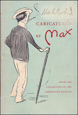 Caricatures by Max by Max Beerbohm