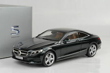 2014 Mercedes-Benz  S-Class  Klasse Coupe C217 smaragd green 1:18 Norev Dealer