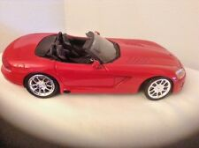 ERTL 2001 DODGE VIPER SRT 10 VENOM Diecast 1/18 DARK RED