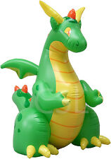 Big Inflatable Dragon 7 feet+ (2m+) - One of the last ones out there!