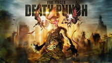 "006 Five Finger Death Punch - FFDP 5FDP Heavy Metal Band Music 25""x14"" Poster"
