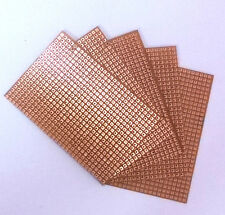 10 Pieces General Purpose / Perforated PCB Boards 3 x 2 Inches. ( Perfboard ).