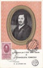 7993) EVANGELISTA TORRICELLI DA FAENZA, MATEMATICO E FISICO.