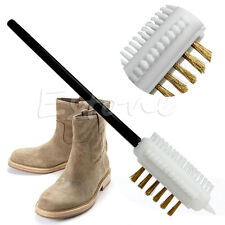 3 Side S Shape Boot Shoes Cleaner Suede Nubuck Shoe Cleaning Brush Eraser