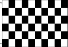 Black and White Checkered Nylon 3 x 5 Foot Flag Indoor Outdoor Racing Race New