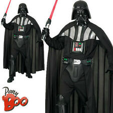 Mens Deluxe Darth Vader STD Star Wars Fancy Dress Adults Movie Character Costume