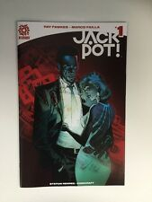 Jackpot ! #1 1:10 Variant Andrew Robinson Aftershock Comics Comic Book