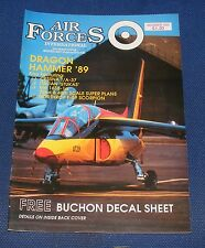 AIR FORCES INTERNATIONAL MAGAZINE OCTOBER 1989 - CESSNA T/A-37