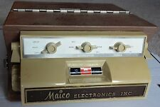 Vintage Maico Precision Hearing Test Instrument, Portable Audiometer Model MA 12