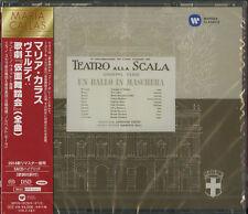 MARIA CALLAS-VERDI: UN BALLO IN MASCHERA-JAPAN 2 SACD HYBRID K81 zd