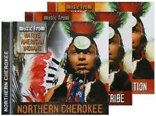 3 CD-Box:Traditional Music from Native American Indians -Cherokee,Kiowa Cowboy