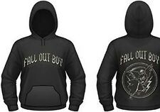 FALL OUT BOY SKELETON XL HOODED SWEAT SHIRT NEW OFFICIAL BLACK