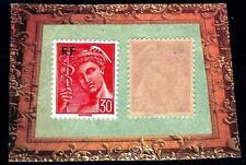 VARIÉTÉ -N°658/ (papier mince transparent) Type Mercure- Neuf **
