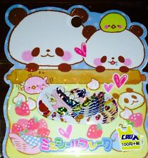 Kawaii CruX Mogumogu Pankoro Sticker Flakes Sack 52 Stickers