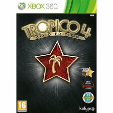 Tropico 4 - Gold Edition For PAL XBox 360 (New & Sealed)