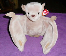 NEW TY BEANIE BABY BUDDY BUDDIES BATTY BROWN BAT LARGE PLUSH SOFT TOY FREE UKP&P